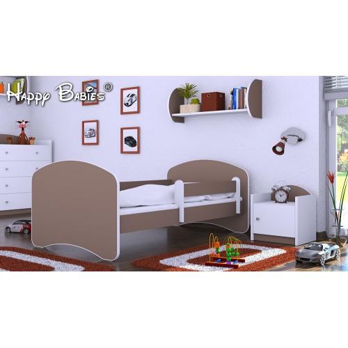 Dětská postel Happy Babies se zábranou Bříza 180x90 Dětská postel