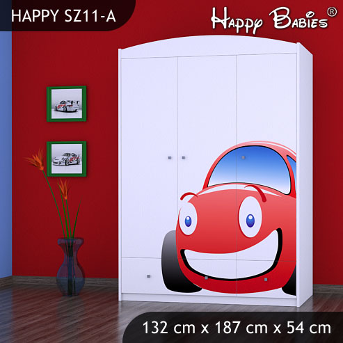 Dětská skříň Happy Babies Různé motivy Z11