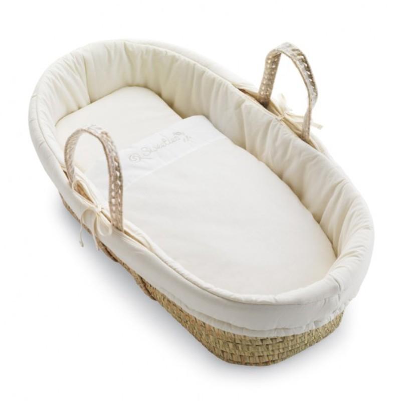 Košík pro miminko Pali Sweeties krémová