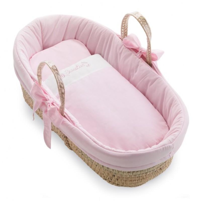Košík pro miminko Pali Sweeties růžová