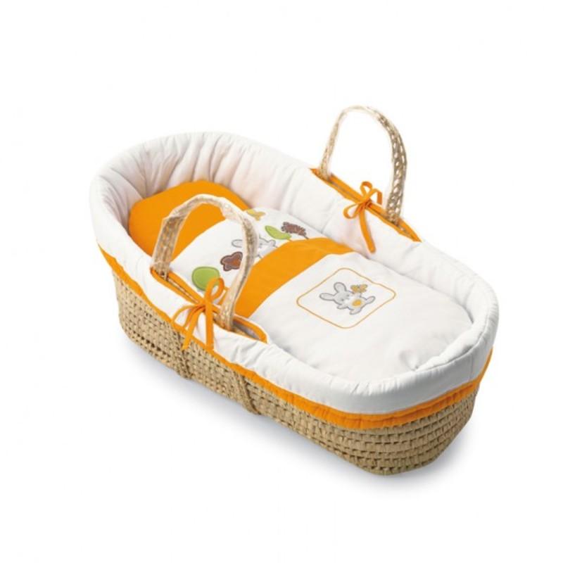 Košík na přenášení miminka Pali Smart Bosco oranžová
