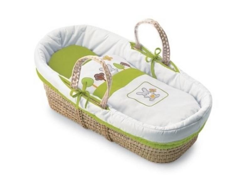 Košík na přenášení miminka Pali Smart Bosco zelená