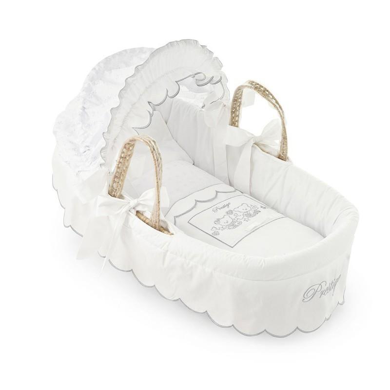 Košík na přenášení miminka Pali Prestige bílá