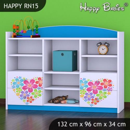 Dětský regál Happy Babies RN15
