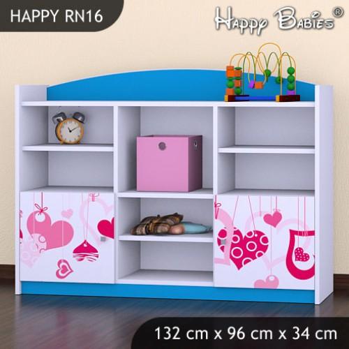 Dětský regál Happy Babies RN16