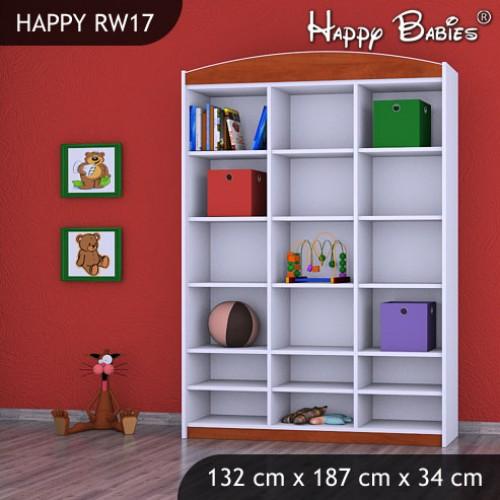 Dětský regál vysoký Happy Babies RW17