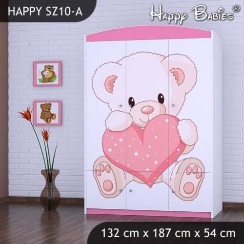 Dětská skříň Happy Babies Různé motivy R6