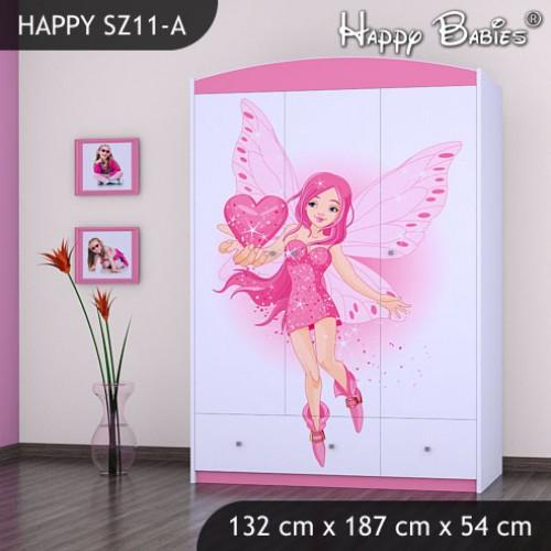 Dětská skříň Happy Babies Různé motivy R4