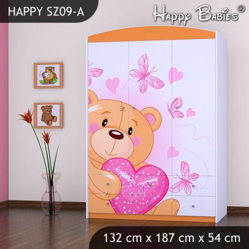 Dětská skříň Happy Babies Různé motivy R3