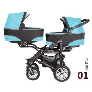 Babyactive Twinni City Blue 2018
