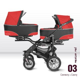 Babyactive Twinni City Red 2018
