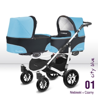 Babyactive Twinni City Blue white 2018