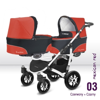Babyactive Twinni City Red white 2018