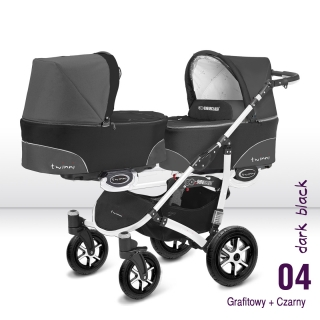 Babyactive Twinni Dark Black white 2018