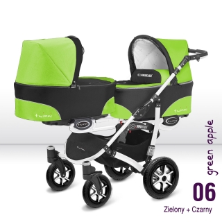 Babyactive Twinni Green Apple white 2018