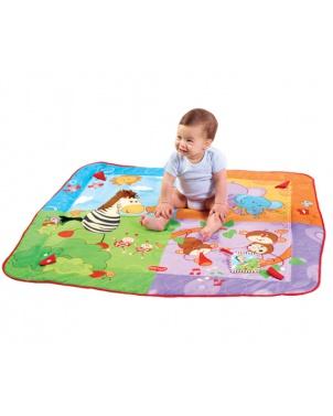 Tiny Love Hrací deka s hrazdou Gymini® Move&Play Hrací deky