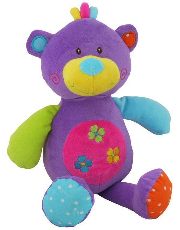 Chrastící medvídek Plyšové hračky