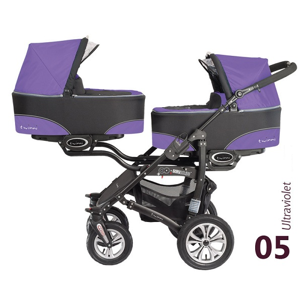 Babyactive Twinni Ultraviolet 2013 Kočarek pro dvojčata