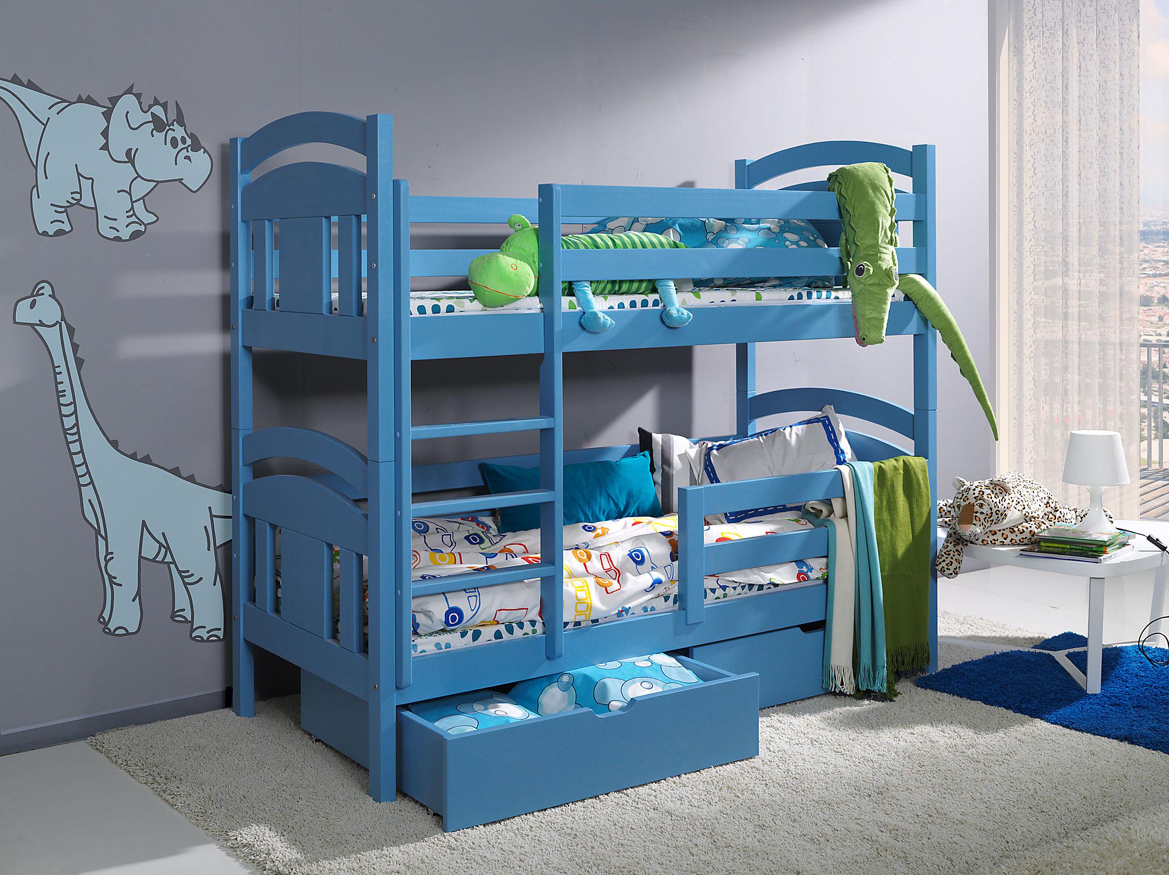 Dětská postel patrová Kristián + doprava zdarma Dětská postel