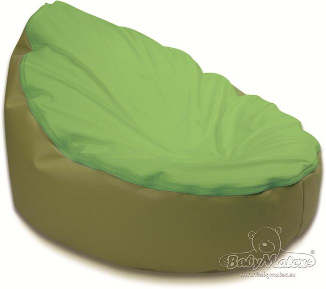 Sedací vak Baby Matex PUFY zelená Sedačka