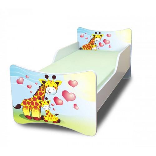 Dětská postePavla Žirafa 140x70 Dětská postel