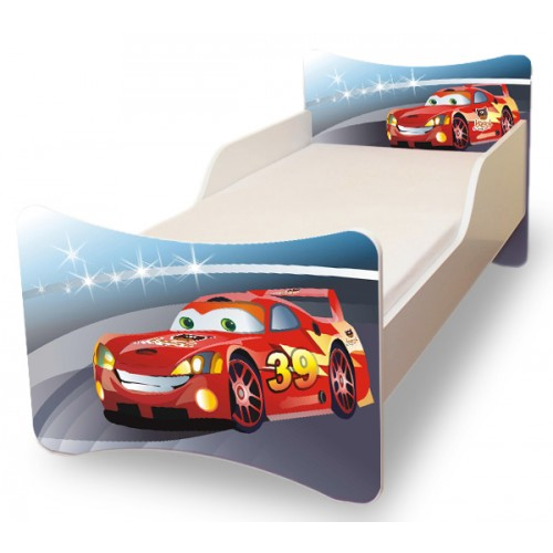 Dětská postel Pavla Cars 140x70 Dětská postel