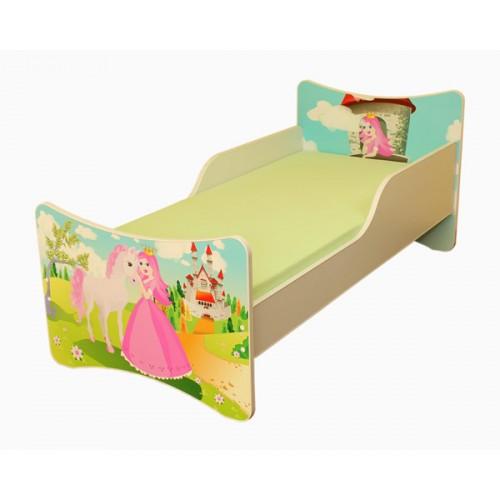 Dětská postel Pavla Princezna 140x70 Dětská postel
